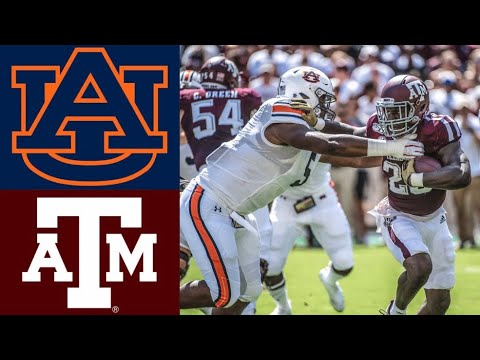 #8 Auburn vs #17 Texas A&M Highlights | NCAAF Week 4 | College Football Highlights