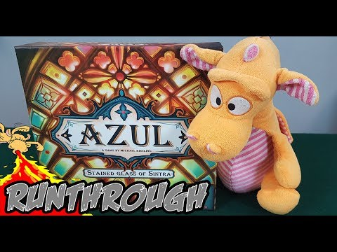 Azul: Stained Glass of Sintra - Gameplay Runthrough