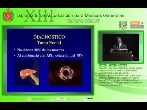 Adenocarcinoma moderadamente diferenciado de la próstata