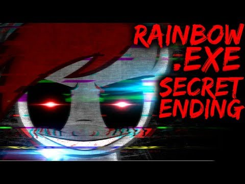 RAINBOW.EXE - THIS .EXE GAME MADE ME LOSE MY SANITY! [My Little Pony Horror Game]