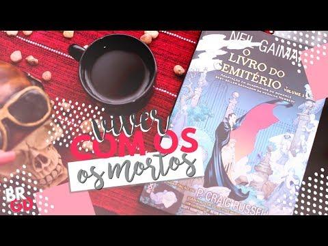 O Livro do Cemitério (Vol. 1) (Neil Gaiman) | Resenha | Borogodó