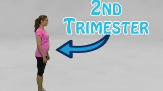 5 minute Maternity Strength Training Workout, No Equipment Needed