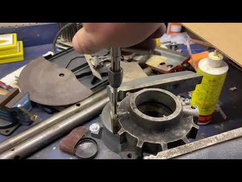 Kent milling machine repair part 3