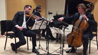 Atlas Piano Trio - L. van Beethoven Piano Trio Op. 1 No. 3, Andante Cantabile