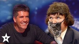Worst Impressionist Simon Has Ever Seen! Funny Audition on Britain