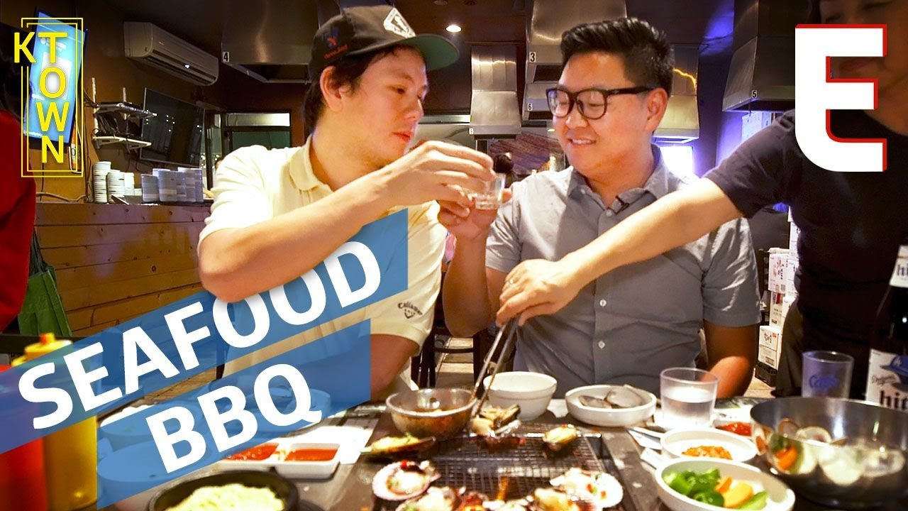 This Giant Seafood Feast is Korean Barbecue Like You've Never Seen Before — K-Town thumbnail