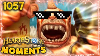 THE MOST BADASS LETHAL EVER!!!| Hearthstone Daily Moments Ep.1057