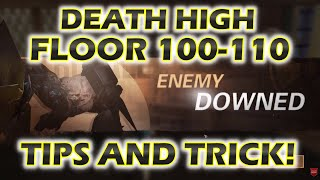 LIVESTREAM Death High Floor 100-110! trying to bug floor 100 boss! Lifeafter dh F100-F110
