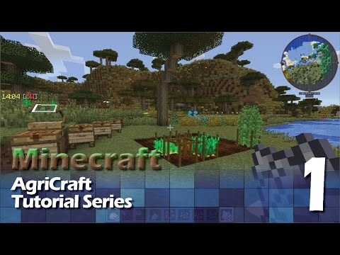 AgriCraft Tutorial #1 - Mechanics