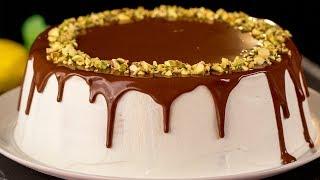 Торт из печенья без выпечки - самый вкусный и самый быстрый в приготовлении десерт! | Appetitno.TV
