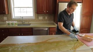 Concrete Countertops - Stain with Z Aqua-Tint