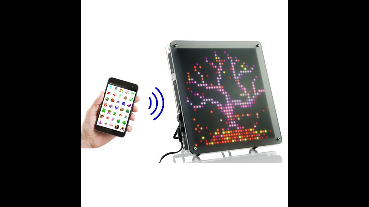 Pixel // LED Art Frame video thumbnail