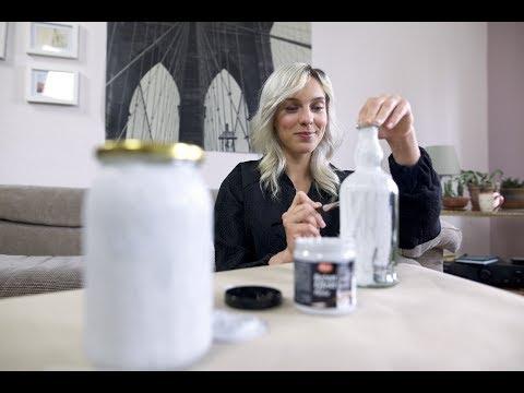 Deko mit Beton Effekt | DIY