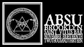 Absu - Saint Vitus 2013 (Full Set)