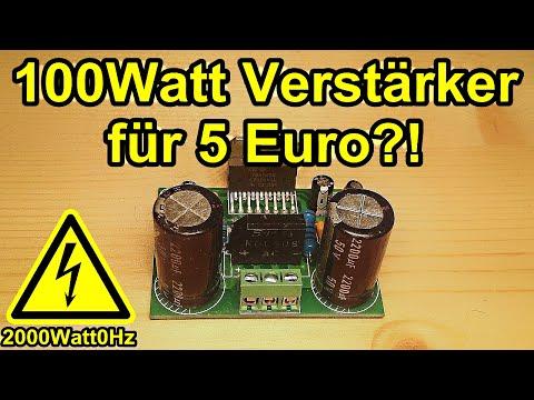 100 Watt Verstärker für 5 Euro?! (TDA7293)