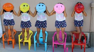 Five Little Babies Sitting on the Chair 5 Little Monkeys Jumping on the bed Nursery Song