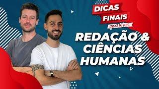 DICAS Finais para o ENCCEJA 2019 - Redação e Ciências Humanas