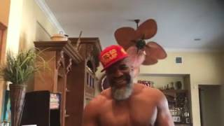 Shannon Briggs Staying Positive And Motivated For Fres Oquendo Fight!!!!