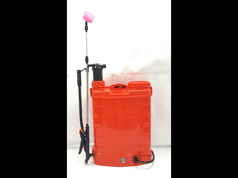 2 in1 Rahul Rose Battery Operated Sprayer