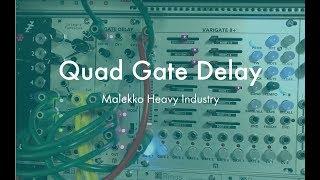 Malekko Quad Gate Delay - Pattern Variations