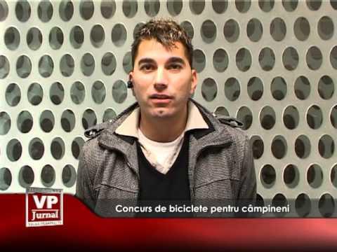 Concurs de biciclete pentru câmpineni