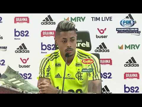 FLAMENGO AO VIVO! Veja entrevista coletiva com Bruno Henrique direto do CT