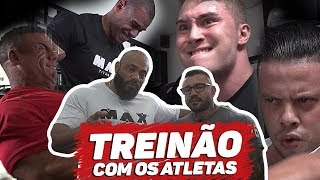 TREINO MAX TITANIUM TEAM | JULIO BALESTRIN E JEFFERSON BAD BOY