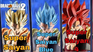 The Power Of 3 Gogetas! The STRONGEST Fusion x3! Dragon Ball Xenoverse 2