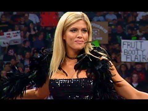 (720pHD): WCW Nitro 06/28/99 - Flair (w/Torrie Wilson/Madusa/Asya/Gorgeous George/Mona) vs. Nash