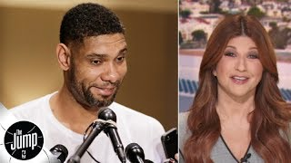 Celebrating the Tim Duncan news: He's back with the Spurs as an assistant coach! | The Jump