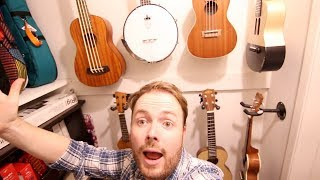 My Ukulele Collection!