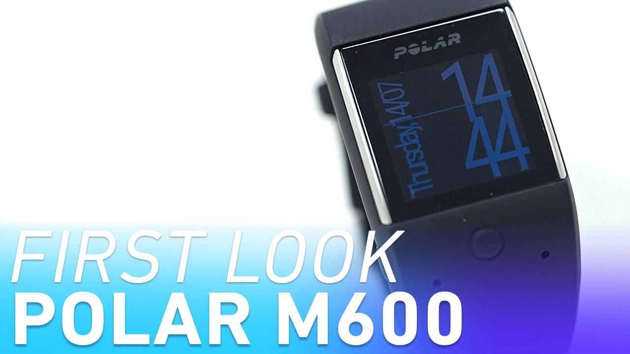 Polar M600 smartwatch first look thumbnail