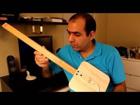 How NOT to Make an Electric Guitar (The Hazards of Electricity)
