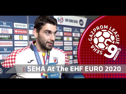 EHF EURO 2020: Asanin & Canellas after the final match ESP vs CRO
