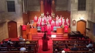"""""""Amen!"""" - Larry D  The WPC Chancel Choir (but no ukulele)"""