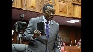 List of grievances that Jubilee MPs have filed against Chief Justice David Maraga