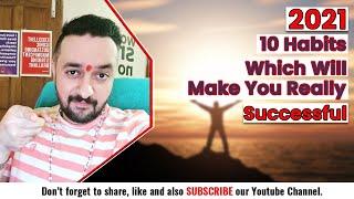 My Top 10 Success Habits 2021 #shorts Motivational Video Speech