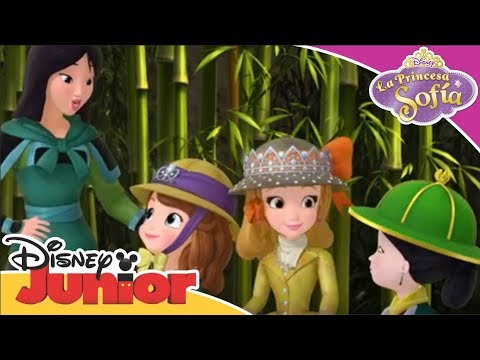 La Princesa Sofía: Momentos Mágicos - Mulán enseña a Sofía que es fuerte | Disney Junior Oficial