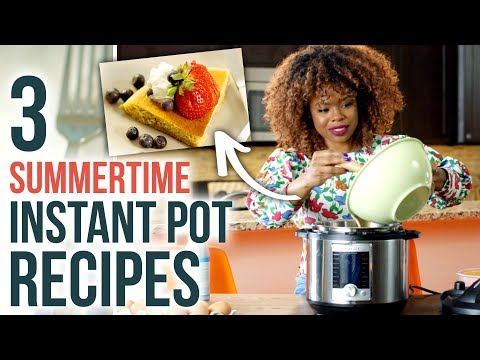 3 SIMPLE Instant Pot Recipes for Summer - For Cooking BEGINNERS - HGTV Handmade