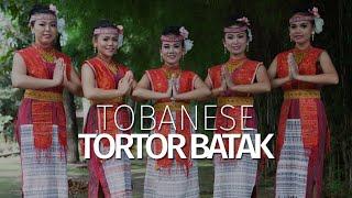 Samosir Island Dancer   Tobanese   Tortor Batak