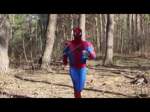 Spiderman Adult Costume Video Review