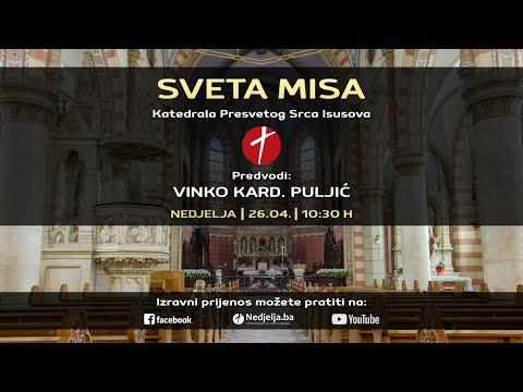 Izravni prijenos nedjeljne mise iz sarajevske katedrale
