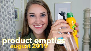 Products I've Used Up | Empty Products 2019 | This or That
