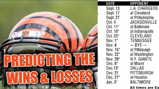 Cincinnati Bengals 2020 Win/Loss Predictions (Full Schedule)