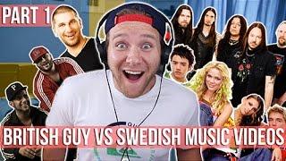 REACTING TO SWEDISH MUSIC VIDEOS