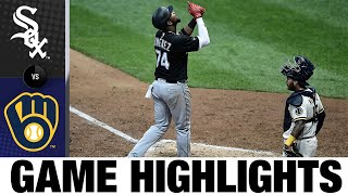 Lucas Giolito Extends White Sox Win Streak   White Sox-Brewers Game Highlights 8/4/20