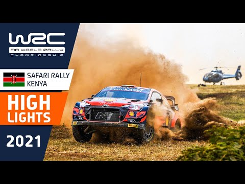 WRC 2021 WRC第6戦ラリー・ケニア ステージ1のハイライト動画