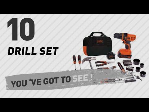Black & Decker Drill Set // New & Popular 2017