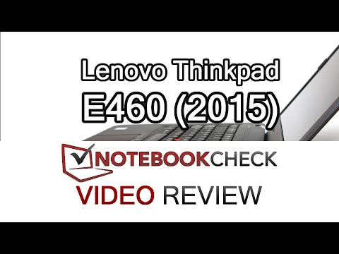 Lenovo Thinkpad E460 Review and performance tests.