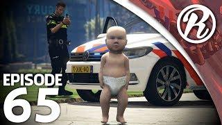 [GTA5] NEDERLANDSE POLITIE VS MEGA BABY!! - Royalistiq | Politie en boefje #65